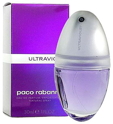 Ultraviolet Paco Rabanne perfume - a fragrance for women 1999