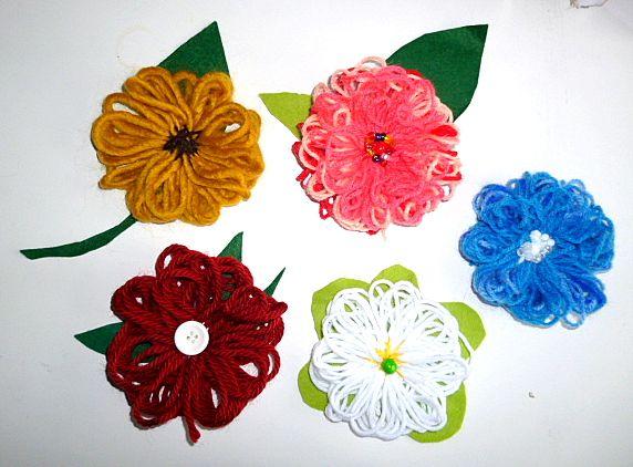 Basteln Mit Wolle Top Modische Kleider Blumen Basteln Blumen Basteln Mit Kindern Basteln Mit Wolle