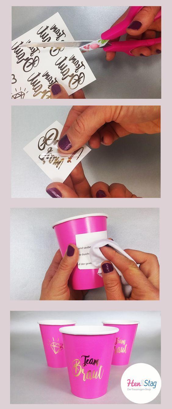 Idee für die JGA: Team Bride Mug