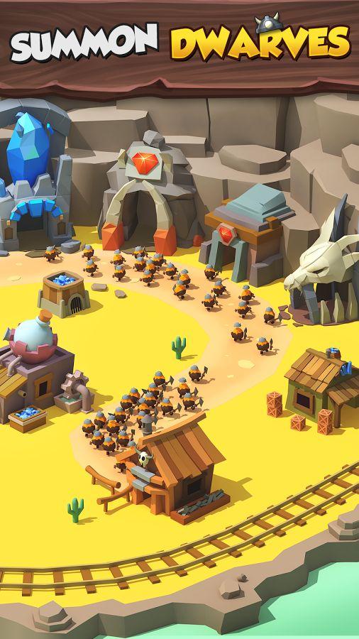 Tiny Miners - Idle Clicker– Capture d'écran