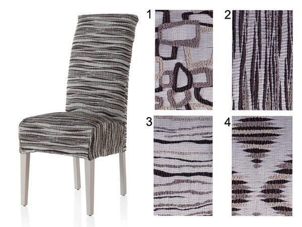Fundas elásticas para sillas con respaldo . Cómpralas online en http://www.cortinajoven.com/fundas-de-sofa/fundas-para-silla/71708-fundas-silla-elasticas-con-respaldo-geo.html  //  Chair elastic slipcovers.