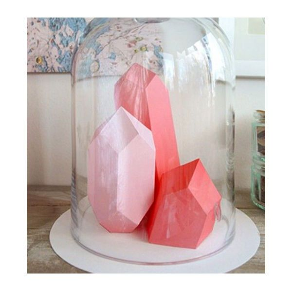DIY Berg Kristal mal berk: met deze berken triplex mal vouw je zelf de mooiste geometrische papieren bergkristallen. From www.kidsdinge.com www.instagram.com... www.facebook.com/... #Kids #Toys #Speelgoed #kidsroom #onlinestore #Brasschaat #Belgium #kidsdinge