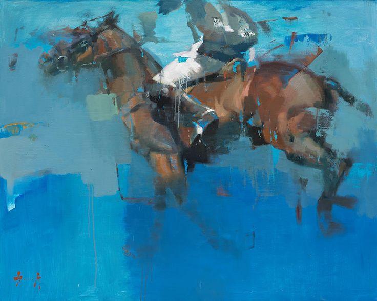 Christian Hook. Azul Del Sur. Beautiful horse.