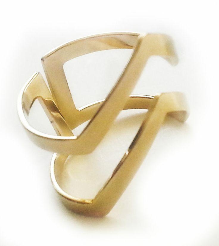 Modern Gold Yüzük