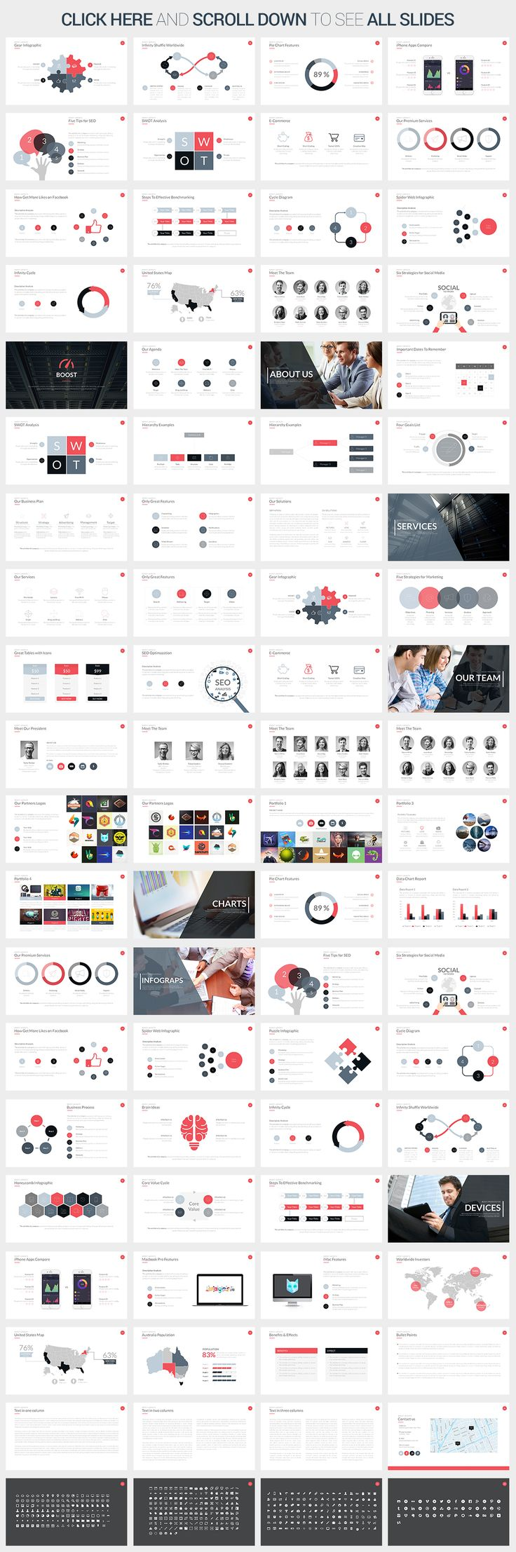 Boost Powerpoint Template by SlidePro on Creative Market