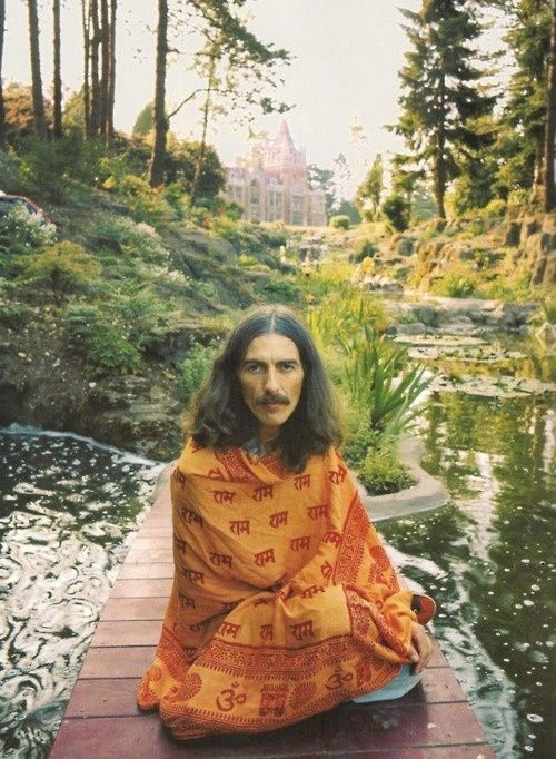 """""""We have to realize that we are potentially divine and then manifest that divinity."""" George Harrison"""