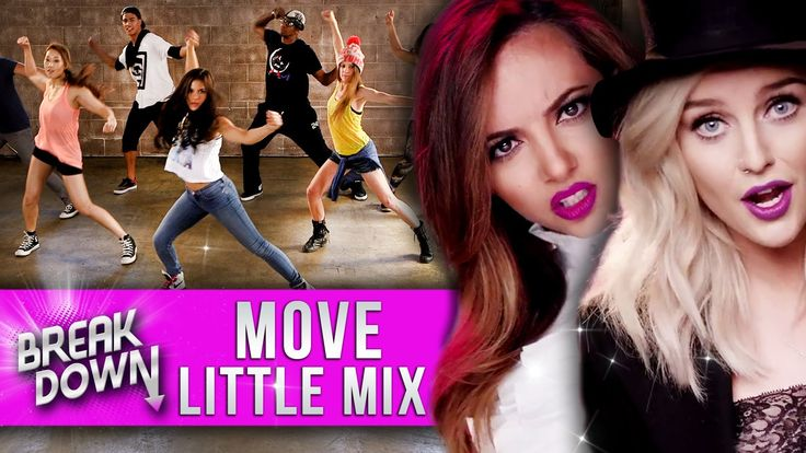 "Little Mix - ""Move"" Music Video Dance Tutorial - Clevver Breakdown"