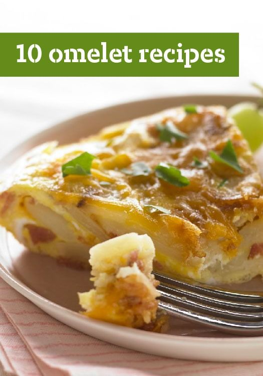 10 Omelet Recipes — Fluffy and delicious, omelet recipes can be customized to the ingredients you have on hand—and are perfect for those mornings when you're short on time.