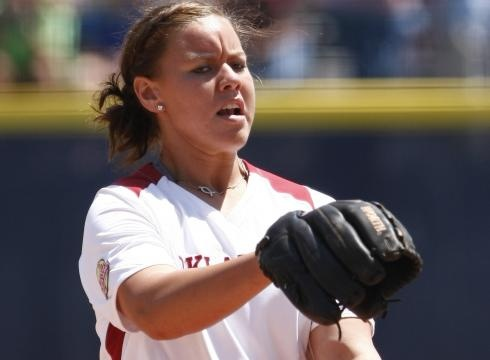 Boomer Sooner!  Good luck Keilani Rickets and the OU softball team in the Women's College World Series Championship Monday night!