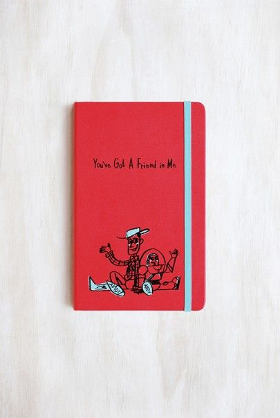**************************** NEW Limited Edition! Moleskine - 2016 Limited Edition - Ruled Notebook - Toy Story - Large (14x21cm) - Geranium Red. Get yours at NoteMaker.com.au  #moleskine #notmaker
