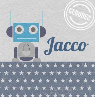 Geboortekaartje Jacco | BlijKaartje.nl