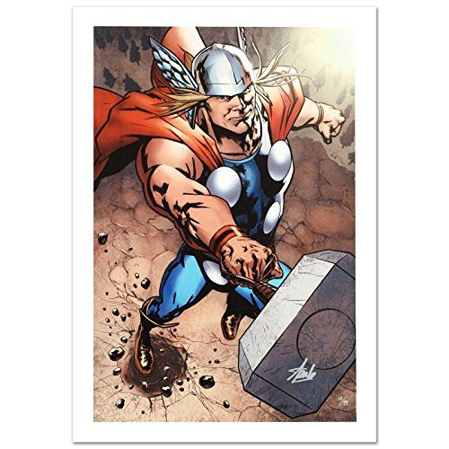 Wolverine Avengers Origins: Thor #1 & The X-Men #2 Limited Edition Giclee on Canvas by Kaare Andrews @ niftywarehouse.com #NiftyWarehouse #Thor #Marvel #Avengers #TheAvengers #Comics #ComicBooks