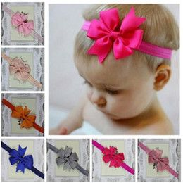 2.5inch Boutique 20 Colors Grosgrain Ribbon Baby Boutique Hair Bows WITH CLIP for Children Hair Accessories