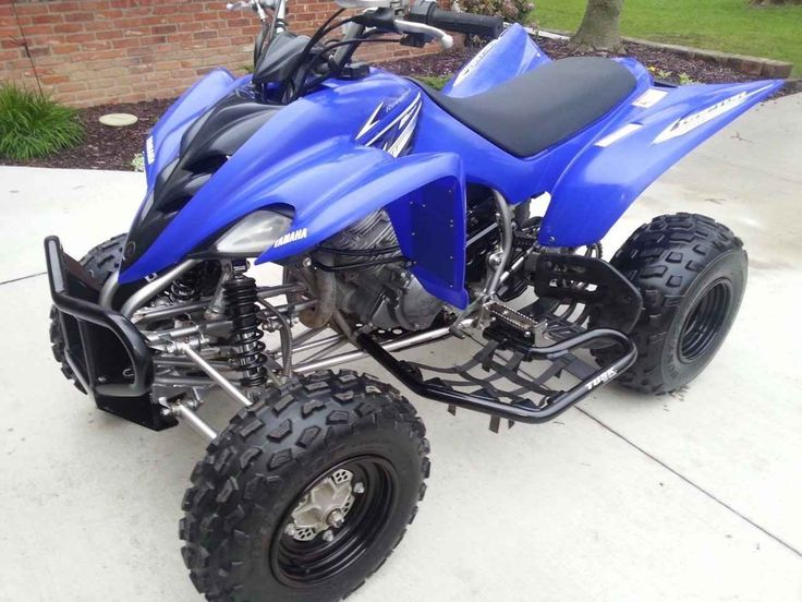 Used 2009 Yamaha Raptor 350 Atvs For Sale In Texas This Machine Has Very Low Hours On It Everything Works Even The Parking Brake Ther Yamaha Atv Raptor Atv