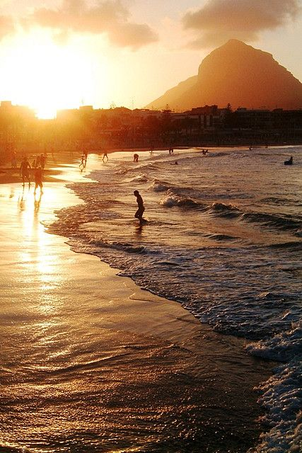 """Playa de Javea, View of the beach of Javea at sunset - SPAIN by Rudy VEGA on Flickr. """