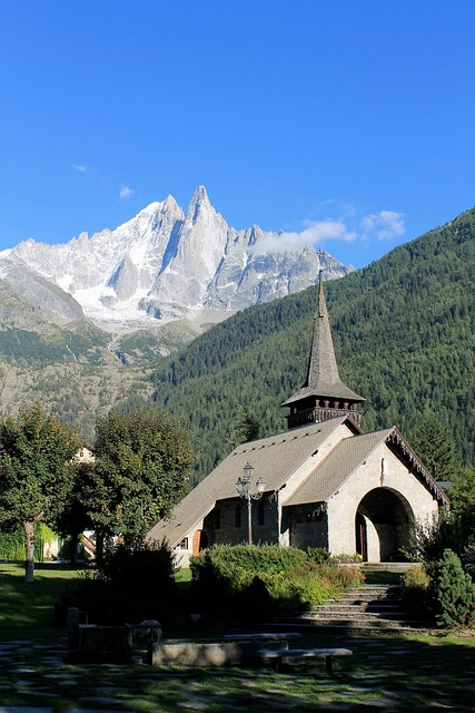 Lac Blanc , Chamonix-Mont-Blanc, Haute-Savoie, France,