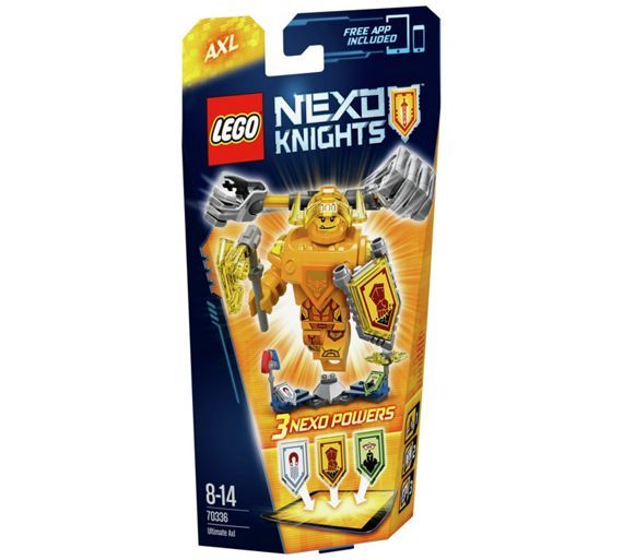 Buy LEGO Nexo Knights Ultimate Axl - 70336 at Argos.co.uk, visit Argos.co.uk to shop online for LEGO and construction toys, Clearance Toys, Toys