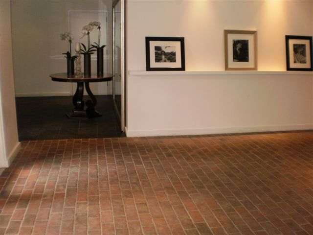 Hotel and Spa - Inglenook Brick Tiles - thin brick flooring, brick pavers, ceramic brick tiles