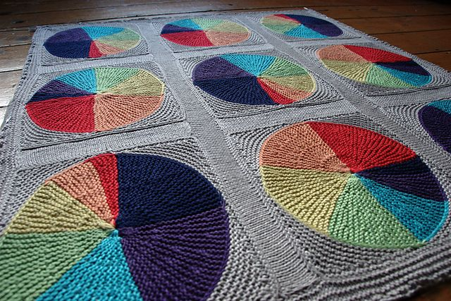 Ravelry: Easy as Pi(e) Blanket pattern by Anna Richardson