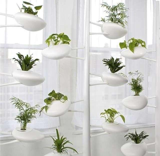 17 migliori idee su fioriere per interni su pinterest - Porta piante da interno ...