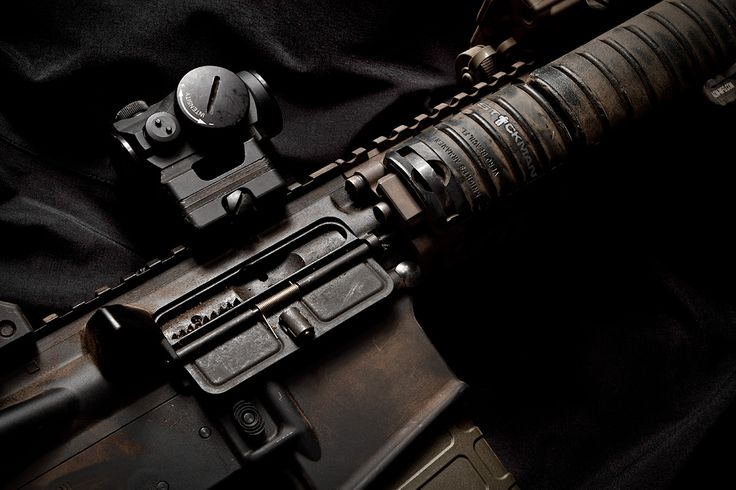 Aimpoint, Inc. T1, Knight's Armament Company mount, and Daniel Defense MK18 upper. by Stickman
