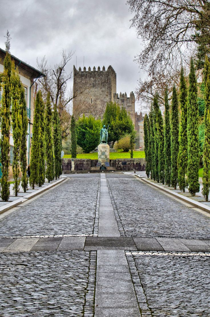 #Guimarães Castle, Portugal. Image by Paulo Vale #Portugal