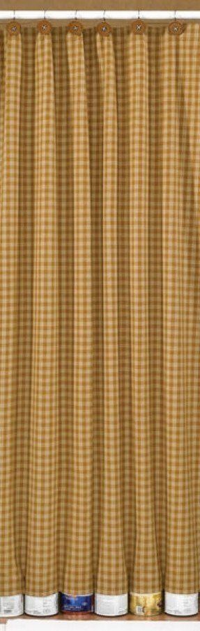 country plaid shower curtains foter bathroom ruffled flax curtain