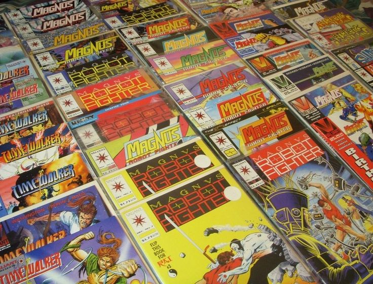 50 VALIANT Comics! AT AUCTION NOW - CHEAP - Comics such as  Magnus Robot Fighter Timewalker Shadowman  and more #Comics #Comicbooks #VintageComics #Collectables #Bargins #MagnusRobotFighter #Timewalker
