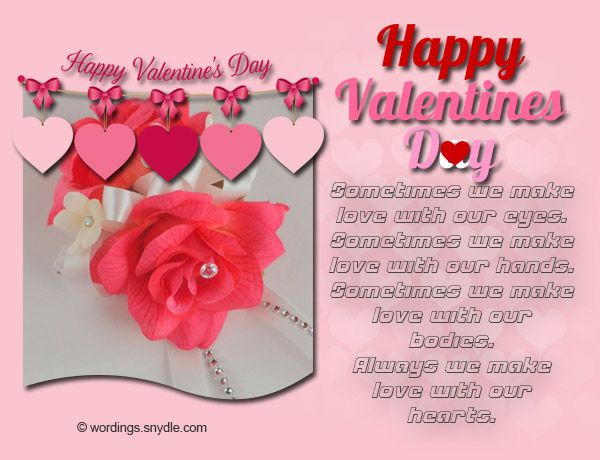 Valentines Day Messages for Wife - Wordings and Messages