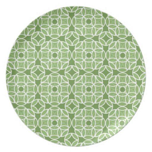 Emerald Green by Kathrin Legg Dinner Plates