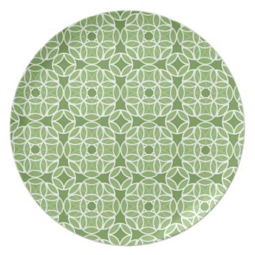 Emerald Green by Kathrin Legg Dinner Plates