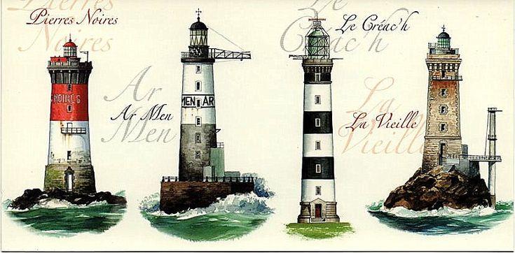 Phares du Finistère (lighthouses) - Finistère Bretagne