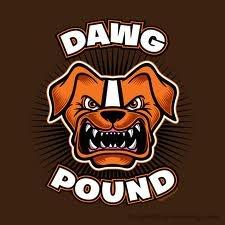 """Cleveland Browns """"dog pound"""""""