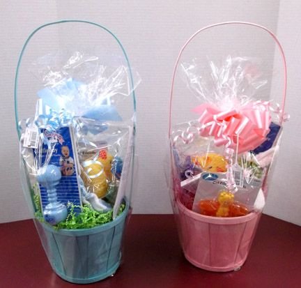 Special Baby Easter Baskets created by Fruth Pharmacy in Huntington, WV.  Call your Fruth Pharmacy today - and have a customized Easter baseket created for that special someone!