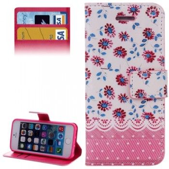 Stylish Daisy Flower Pattern Case for iPhone 5 & 5S