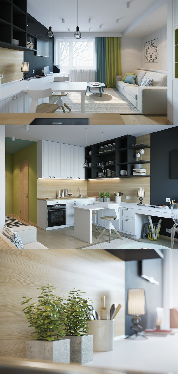 Квартира Студия - Галерея 3ddd.ru