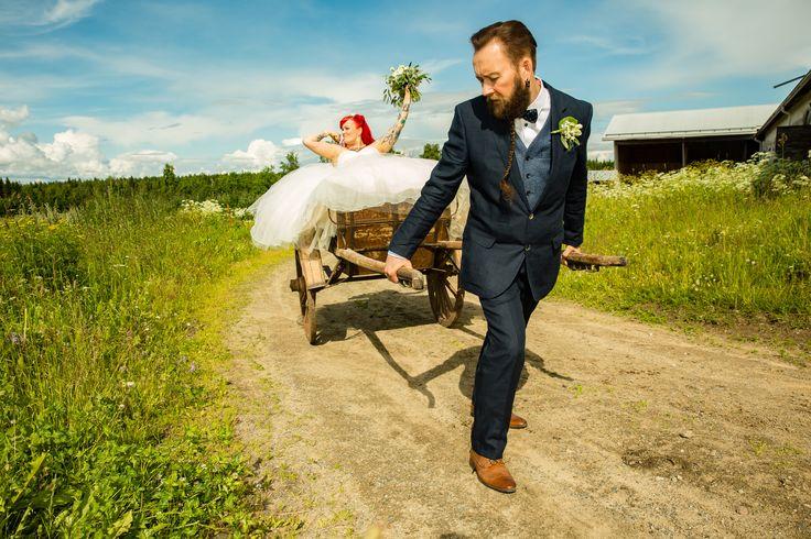 Pirjo & Mika - 50s themed wedding photos
