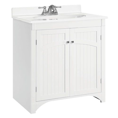 The Awesome Web Cottage Inch White Vanity Cabinet without Top Bathroom