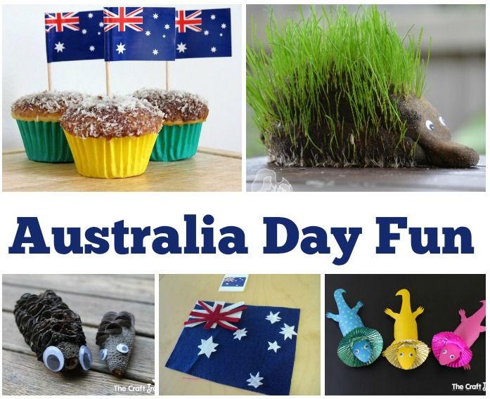It's Australia Day on the 26th January here in Oz and it's always nice to get the children involved in some fun crafts that mean something to us even if only in small ways. I don't often do 'themes...