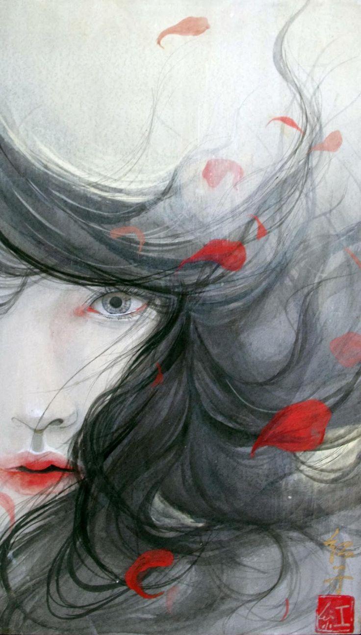 Color in japanese art - Kai Fine Art