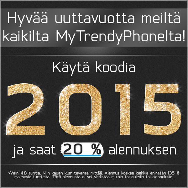 Hyvää onnellista uutta vuotta 2015!