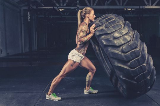 Christmas Abbott, 33, is the epitome of strength: The CrossFit and Olympic weightlifting competitor, Nascar pit crew member, and author of  The Badass Body Diet got into fitness to relieve stress while working at a base camp in Iraq. Read More #StrongGirlStories