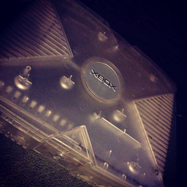 On instagram by pennymanbearpig  #segagenesis #microhobbit (o)  http://ift.tt/1QLNMr3  My see through modded Xbox  this has Atarinesn64snesmegadrive/Genesis & Saturn emulators. #xbox #originalxbox #modded #moddedgaming #gamer #gaming #gamingsetup #retro #retrogaming #emulator #snes #n64 #segasaturn #megadrive  #atari #girlswhogame #gameday #game #gamers #instagamer