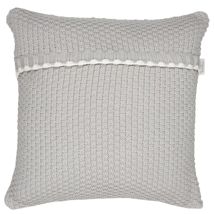 Grey Valencia cushion cover | Koeka
