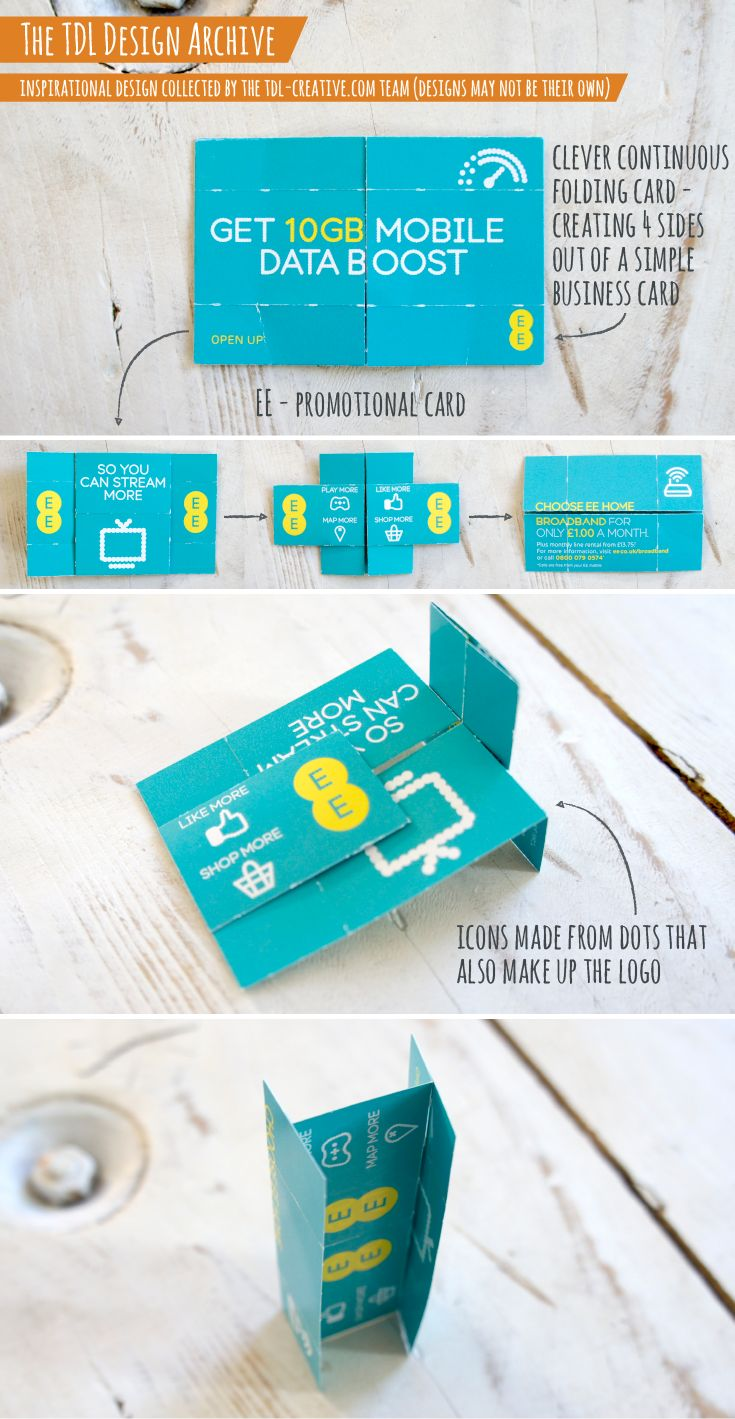 EE - Promotional Card