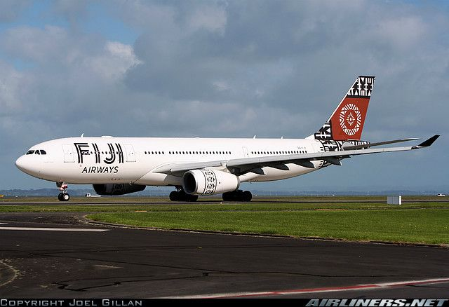 Fiji Airways ( replacing Air PAcific) Airbus A330-243 aircraft picture