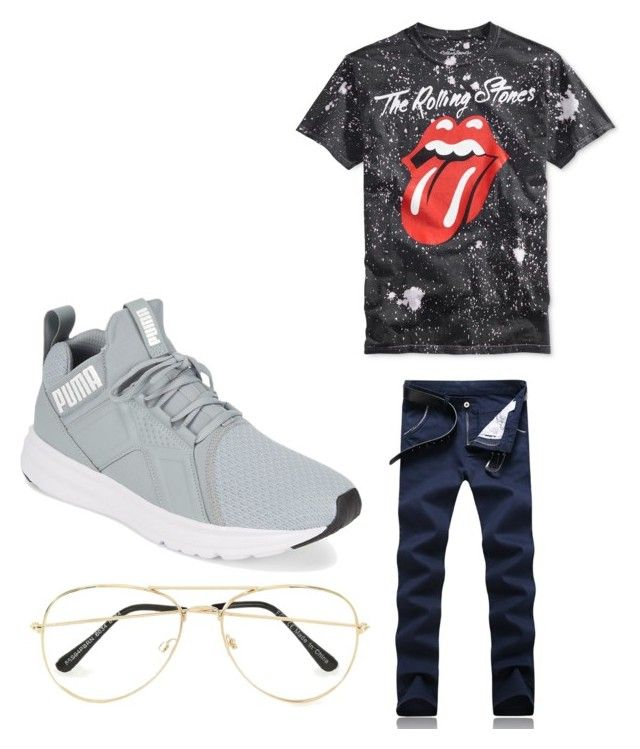 """Museum day?"" by travis-avery on Polyvore featuring Topman, Puma, men's fashion and menswear"