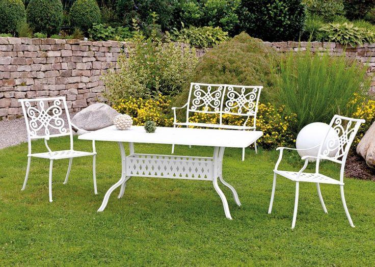 Terrassenmöbel wetterfest weiß  16 besten Gartenmöbel aus Aluminium Guss Bilder auf Pinterest ...