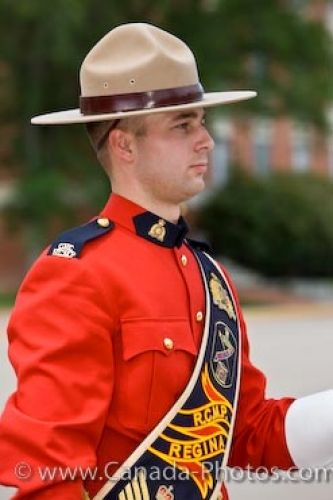 Picture of Band Leader Sergeant RCMP Academy Regina Saskatchewan