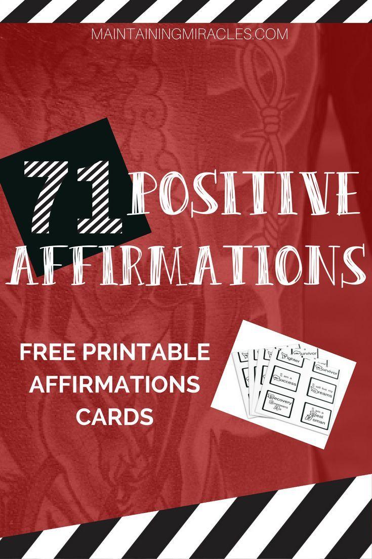 Gambling addiction affirmations